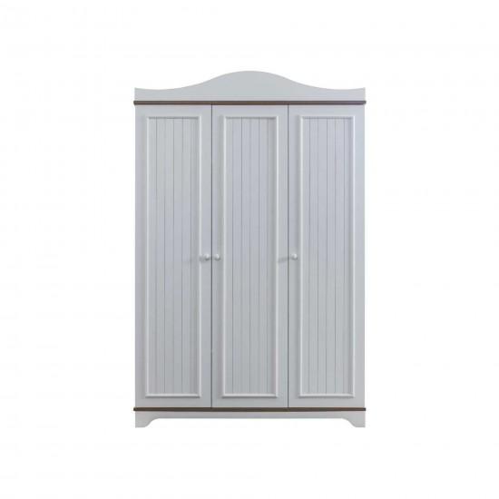 Ekin Leon Three Doors Wardrobe